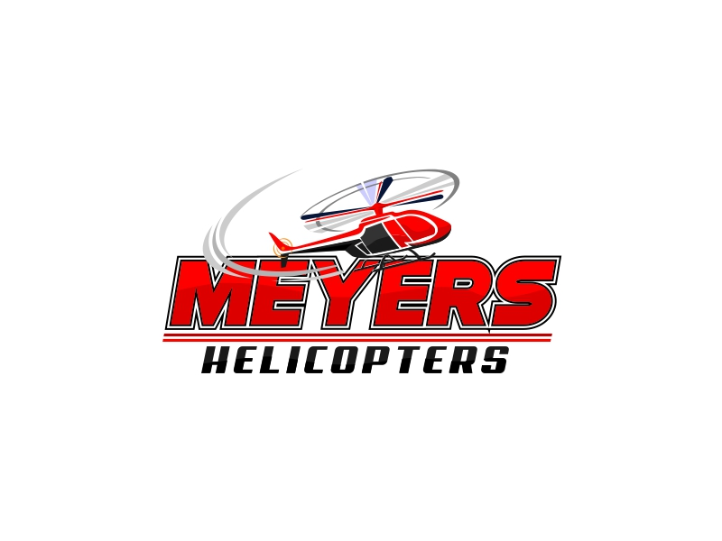 Meyer Helicopters logo design by crearts