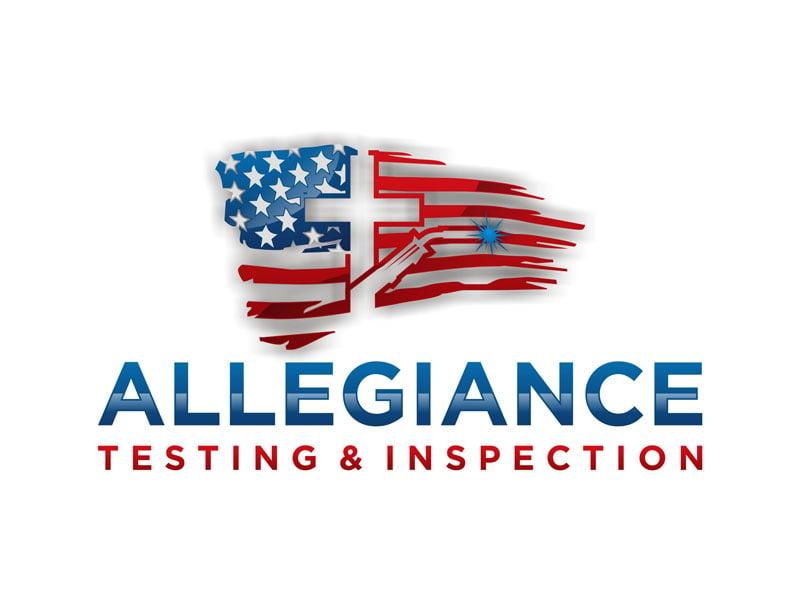 Allegiance Testing & Inspection Logo Design