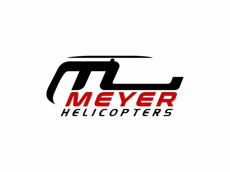 Meyer Helicopters logo design by zonpipo1
