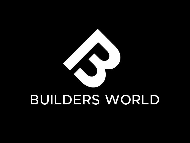 Builders World logo design by kunejo