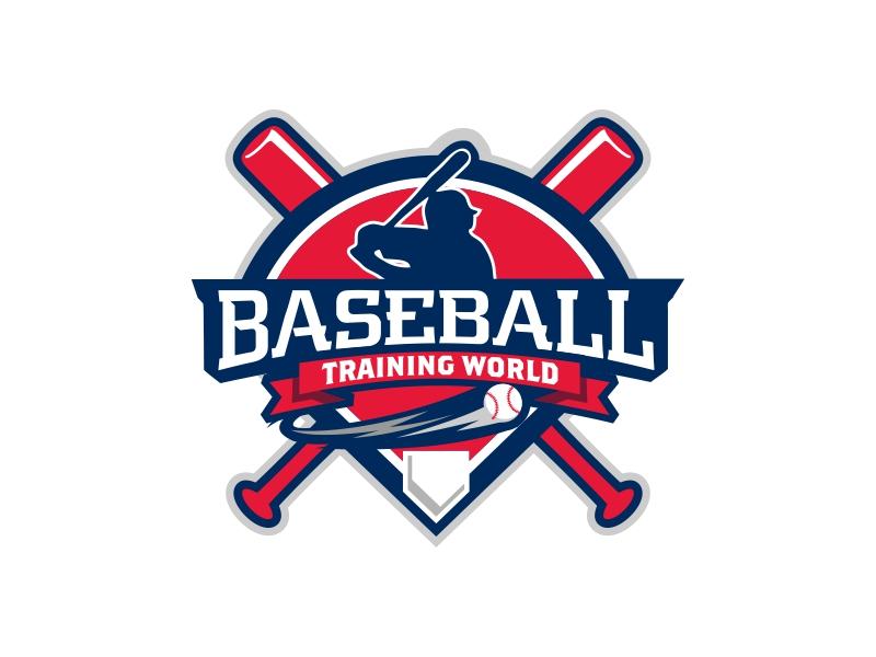 Baseball Training World logo design by rizuki