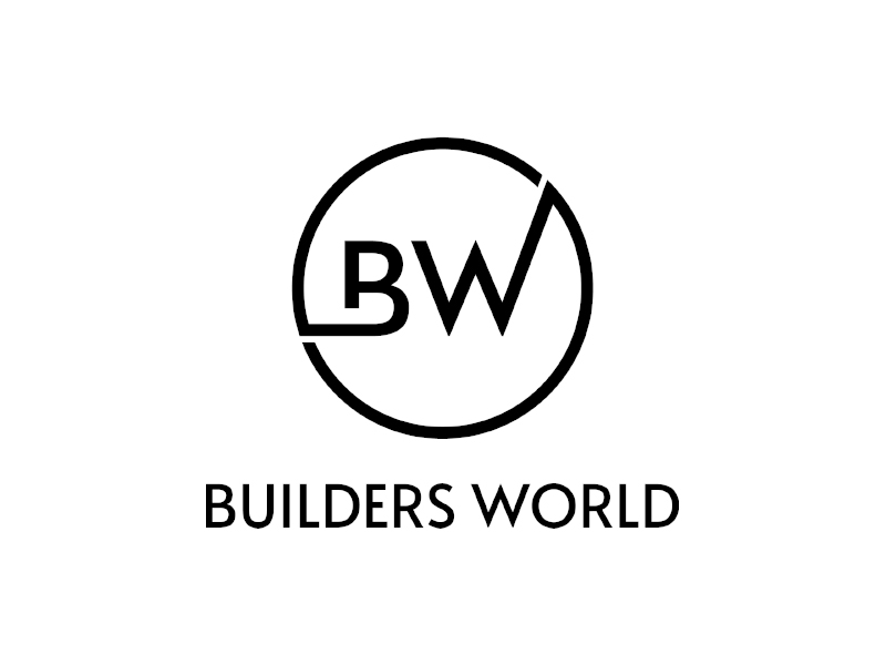 Builders World logo design by planoLOGO