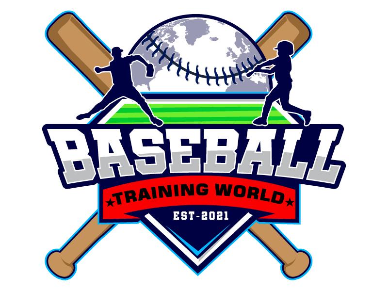 Baseball Training World logo design by Suvendu