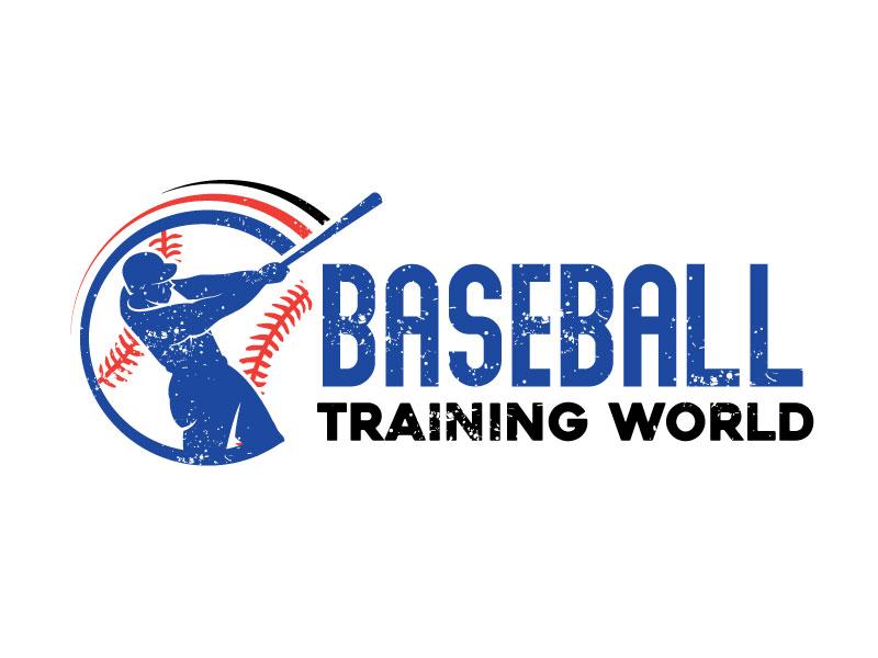 Baseball Training World logo design by Pompi Saha