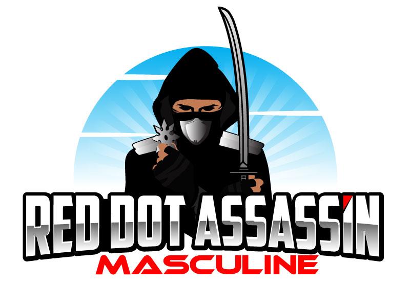 Red Dot Assassin (Masculine) logo design by ElonStark