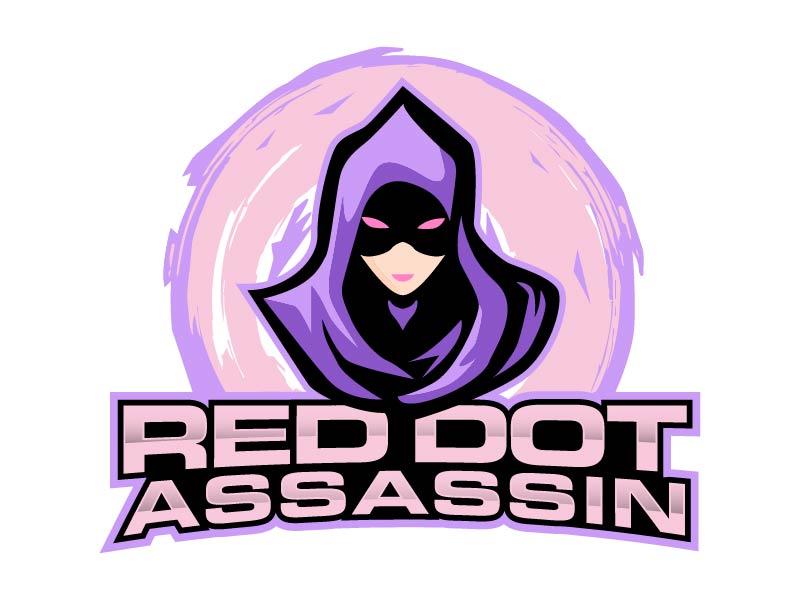 Red Dot Assassin(Feminine) logo design by Mirza