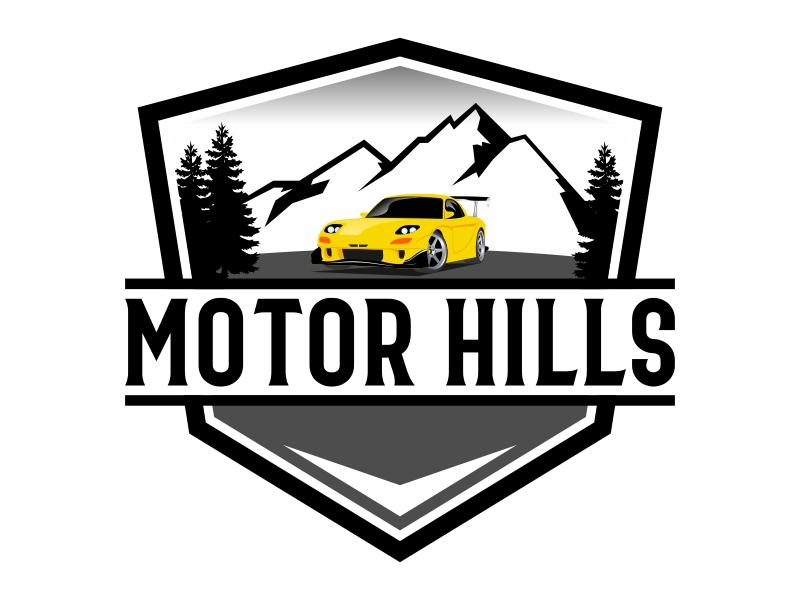 Motor Hills logo design by Kruger
