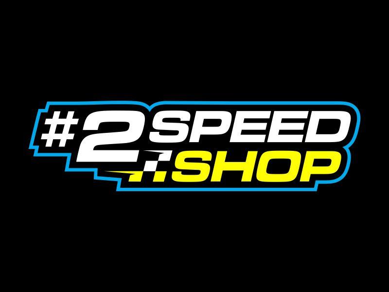 #2 SPEED SHOP logo design by Gopil