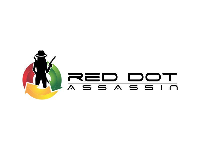 Red Dot Assassin(Feminine) logo design by done