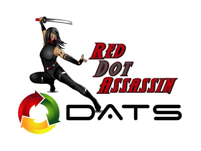 Red Dot Assassin(Feminine) logo design by axel182