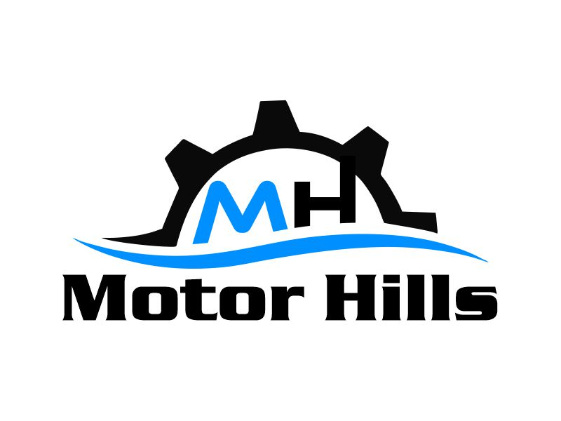 Motor Hills logo design by Gwerth