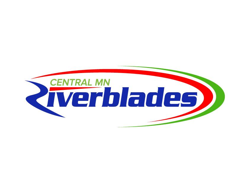 Central Minnesota Riverblades or Riverblades or Central MN Riverblades logo design by jaize