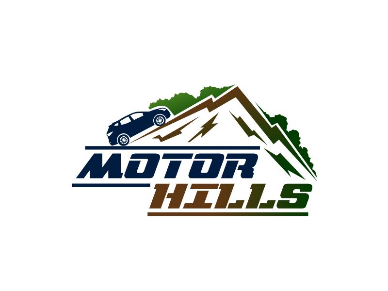 Motor Hills logo design by Webphixo