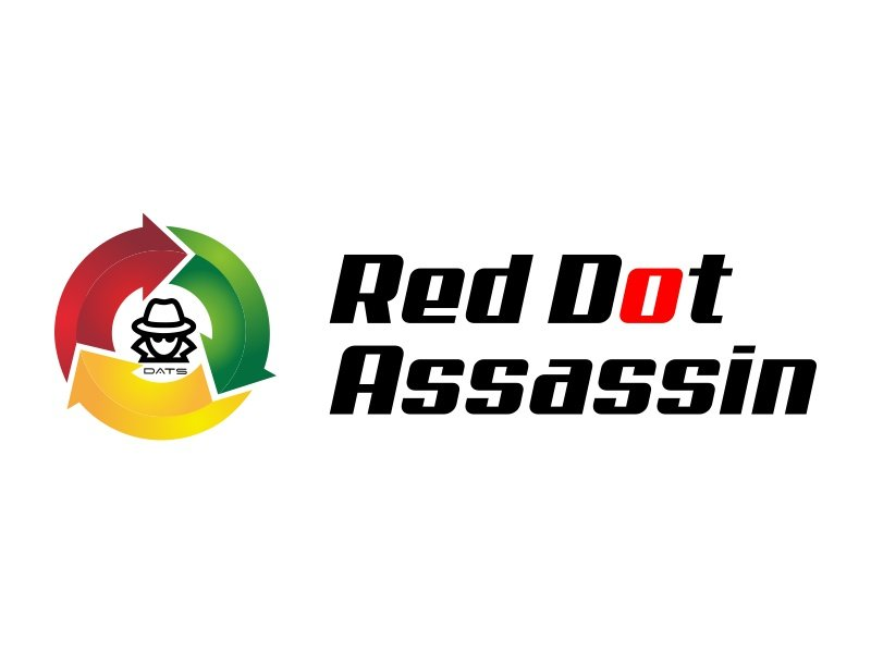 Red Dot Assassin(Feminine) logo design by Mahrein