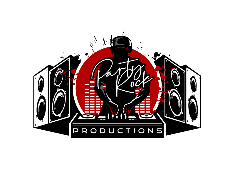 Party Rock Productions logo design by aRBy