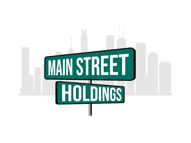 Main Street Holdings logo design by axel182