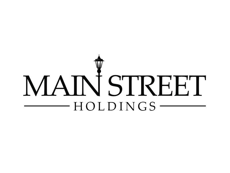 Main Street Holdings logo design by kunejo