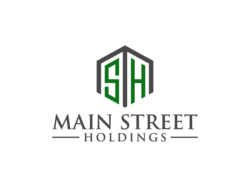 Main Street Holdings logo design by CreativeKiller