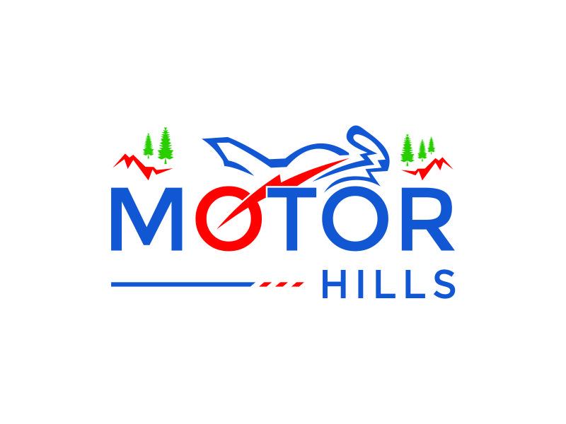 Motor Hills logo design by azizah