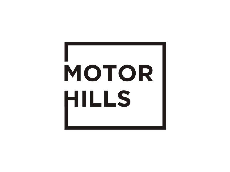 Motor Hills logo design by agil