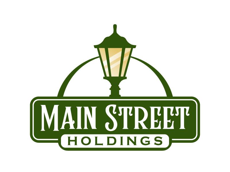 Main Street Holdings logo design by jaize