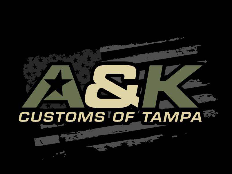 A&K Customs of Tampa logo design by jaize