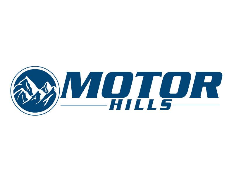 Motor Hills logo design by ElonStark