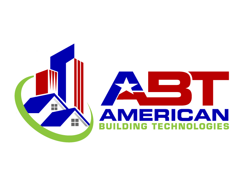American Building Technologies (ABT) logo design by jaize