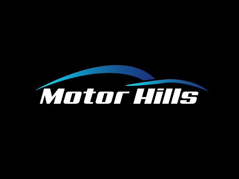 Motor Hills logo design by Marianne