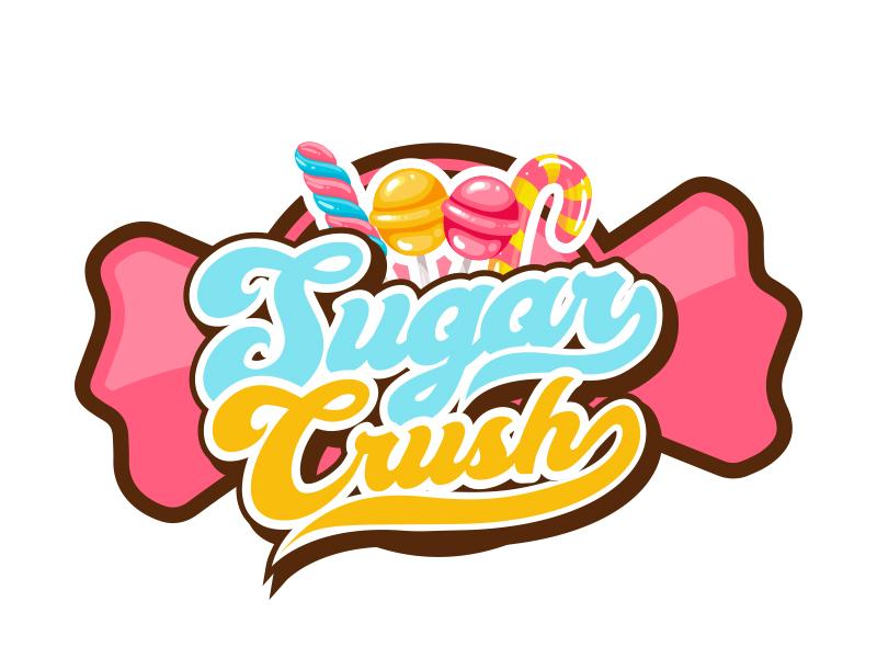 Sugar Crush logo design by MarkindDesign™