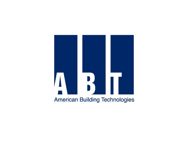 American Building Technologies (ABT) logo design by Marianne