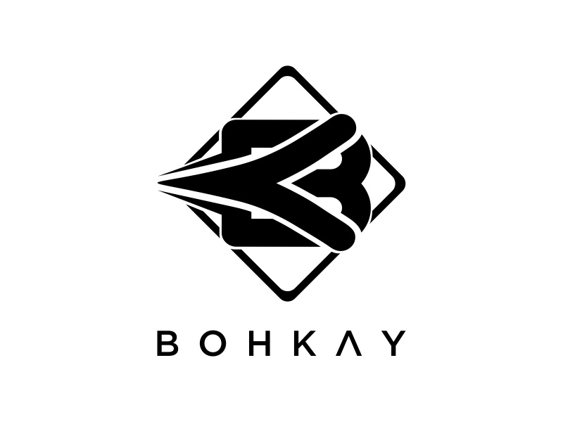 BOHKAY logo design by Mahrein