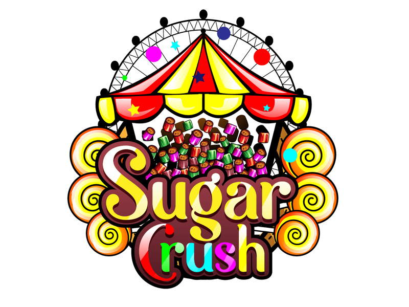 Sugar Crush logo design by DreamLogoDesign