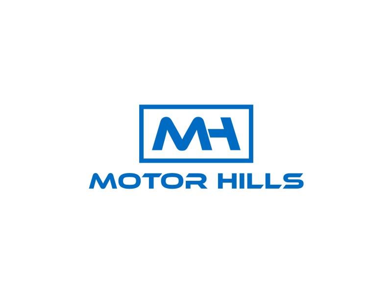 Motor Hills logo design by sodimejo