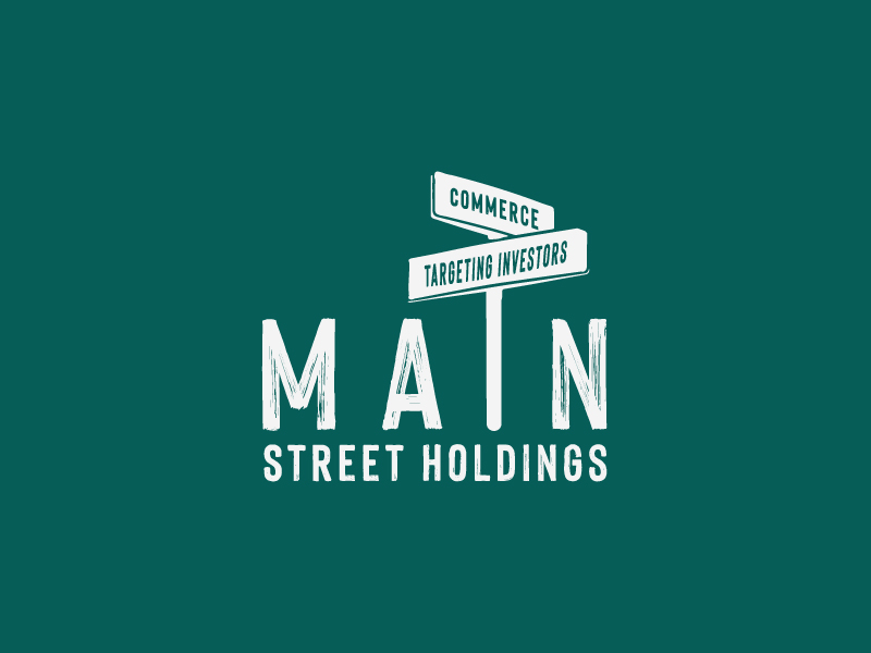 Main Street Holdings logo design by Sami Ur Rab