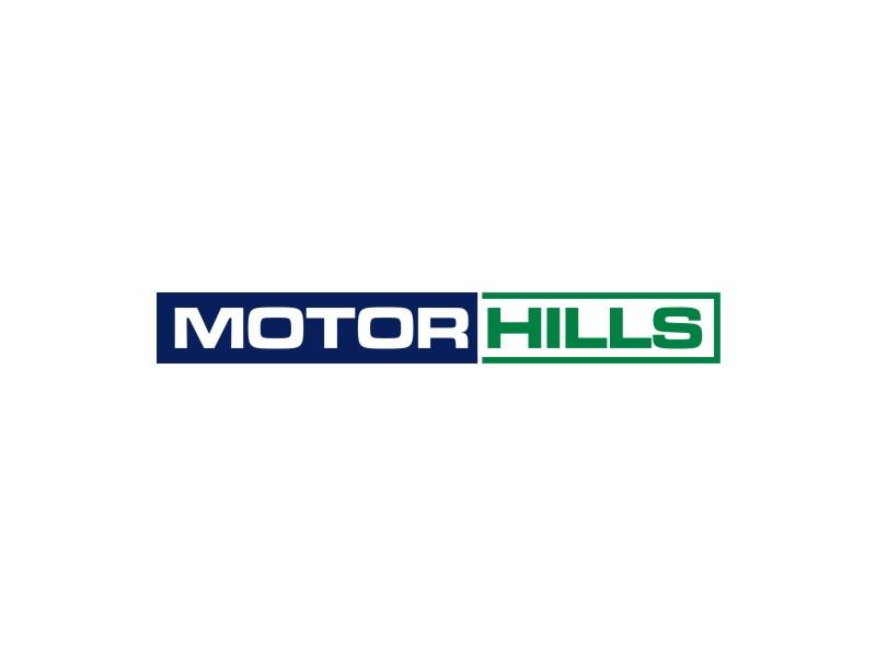 Motor Hills logo design by sheila valencia