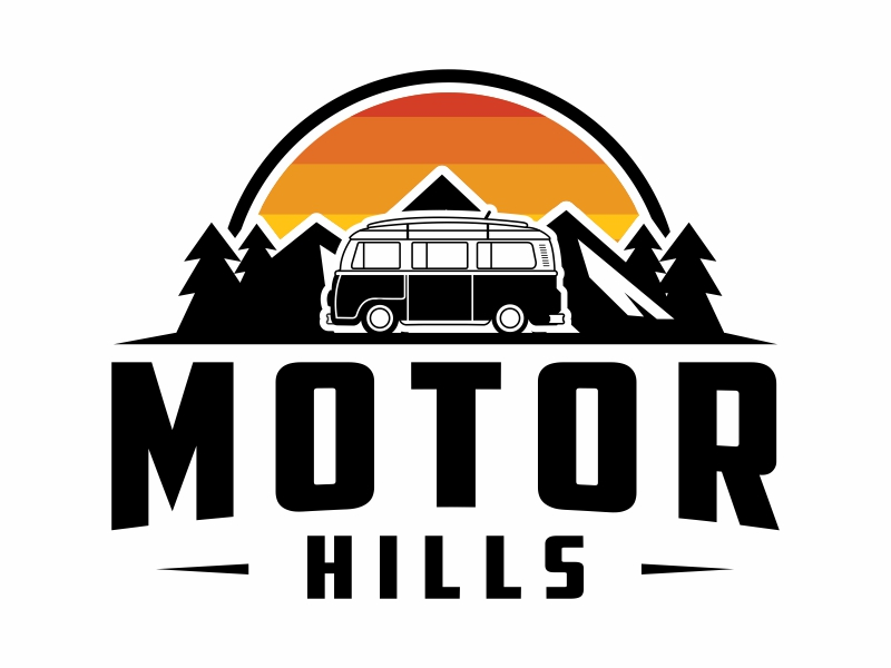 Motor Hills logo design by Mardhi
