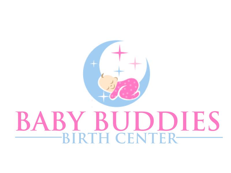 Baby Buddies Birth Center logo design by ElonStark