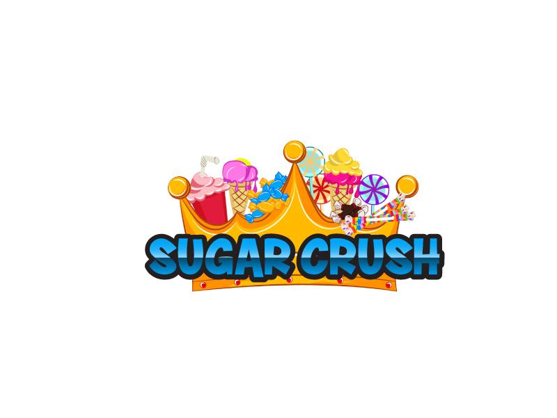 Sugar Crush logo design by ElonStark
