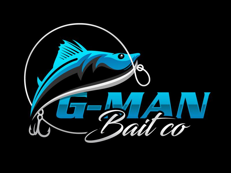 G-Man Bait Co. logo design by DreamLogoDesign