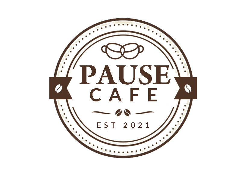 Pause Cafe logo design by senja03