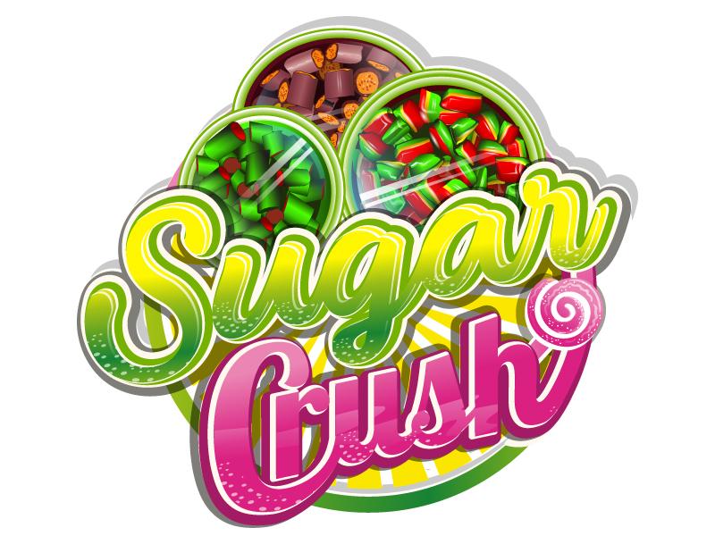 Sugar Crush logo design by Suvendu