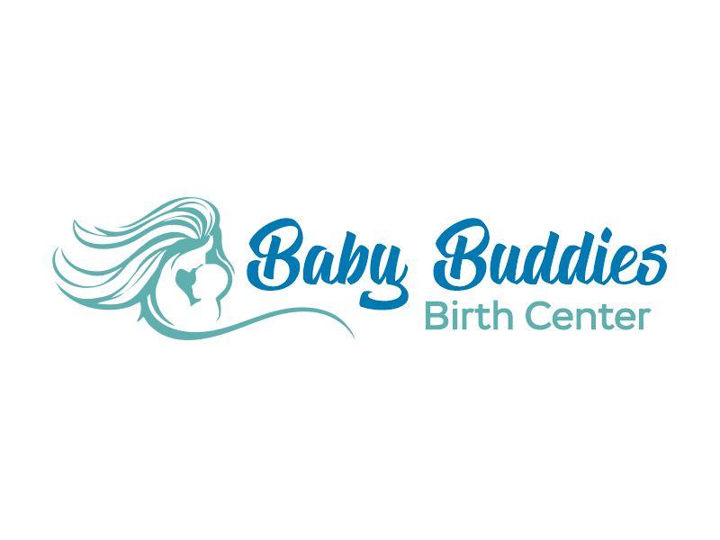 Baby Buddies Birth Center logo design by Gwerth