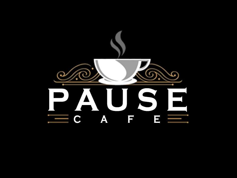 Pause Cafe logo design by kunejo