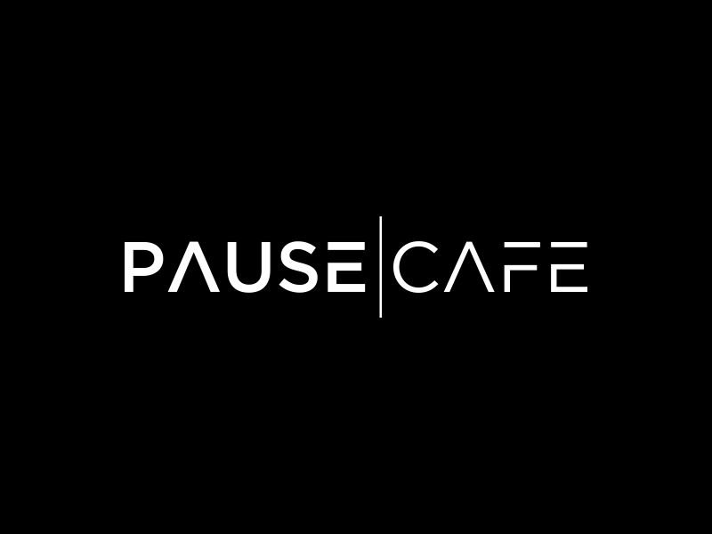 Pause Cafe logo design by mukleyRx