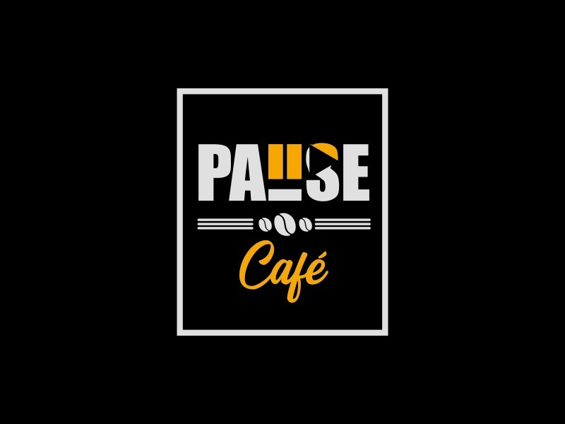 Pause Cafe logo design by ian69