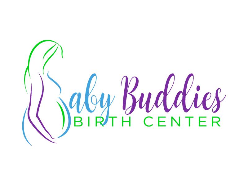 Baby Buddies Birth Center logo design by Suvendu