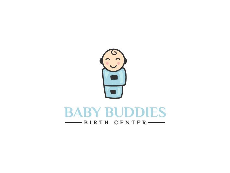 Baby Buddies Birth Center logo design by LogoQueen