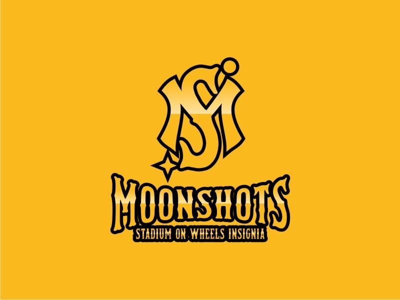 Moonshots Stadium On Wheels Insignia logo design by hopee