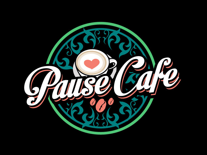 Pause Cafe logo design by aRBy